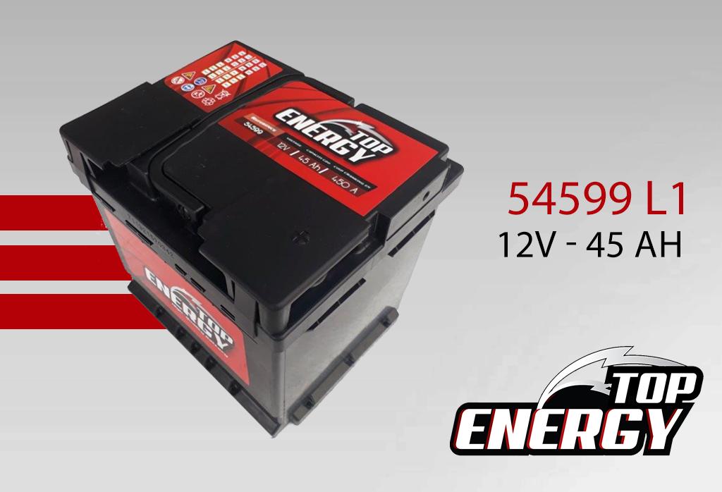 Batterie de démarrage 54599 L1 - AS DIST EUROPE