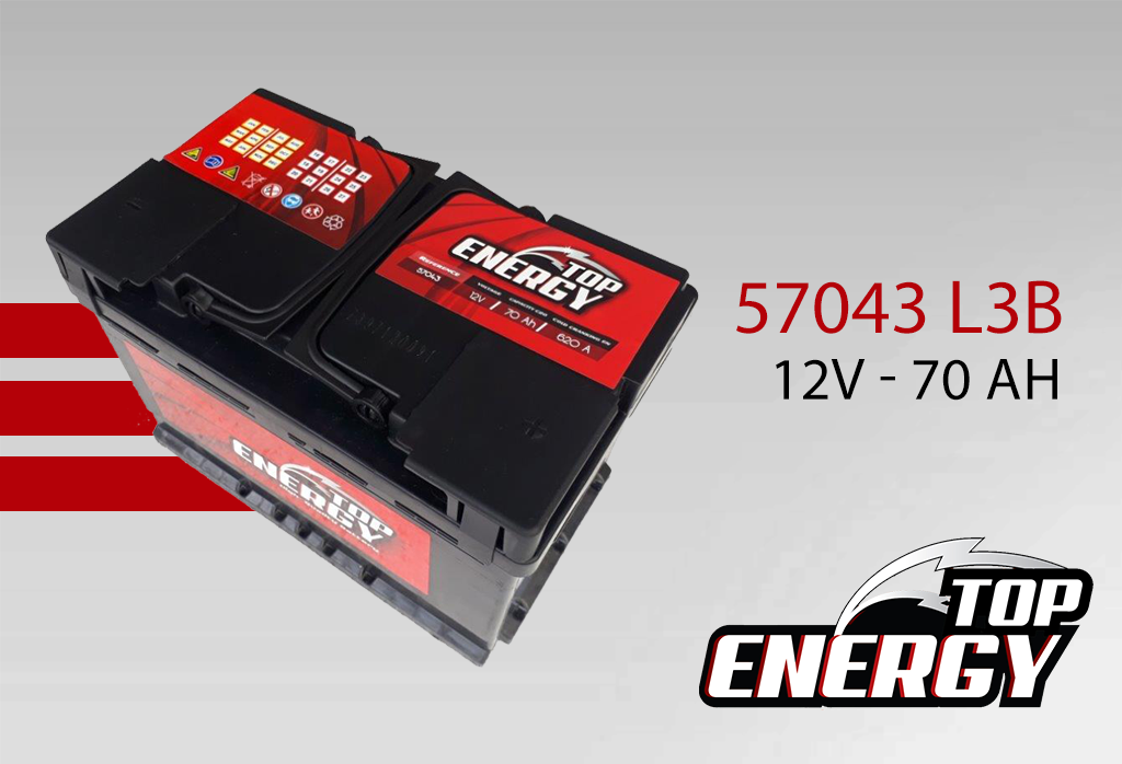 Batterie modèle 57043 L3B - AS DIST EUROPE